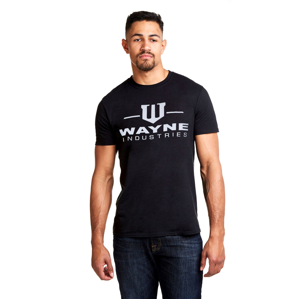 DC Comics Mens - Wayne Industries - T-shirt - Black