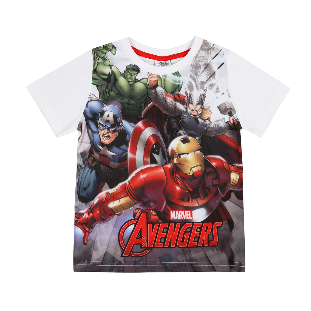 Marvel Kids - Avengers Mission - T-Shirt - White