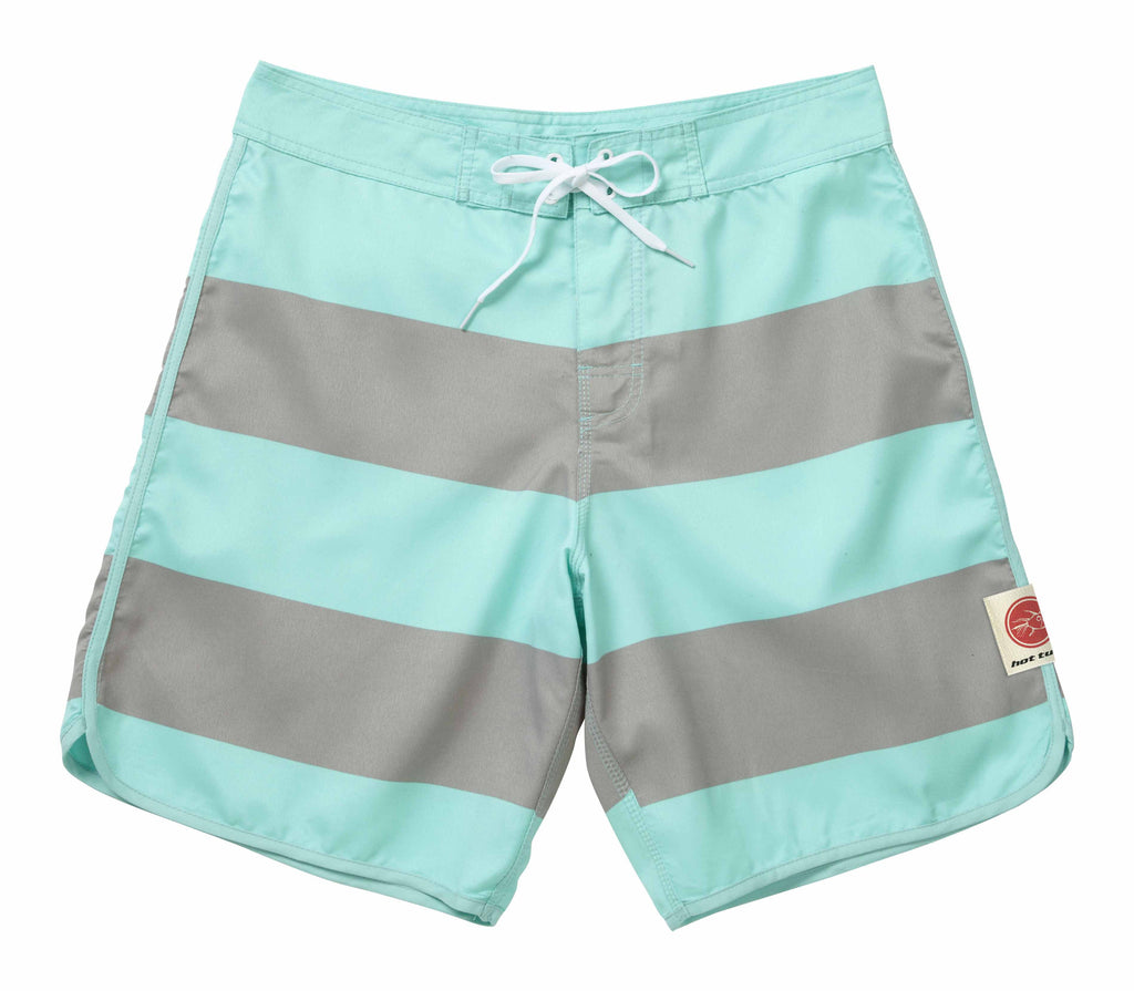 Hot Tuna Mens - Noosa - Boardshorts - Aruba/Grey - CLEARANCE