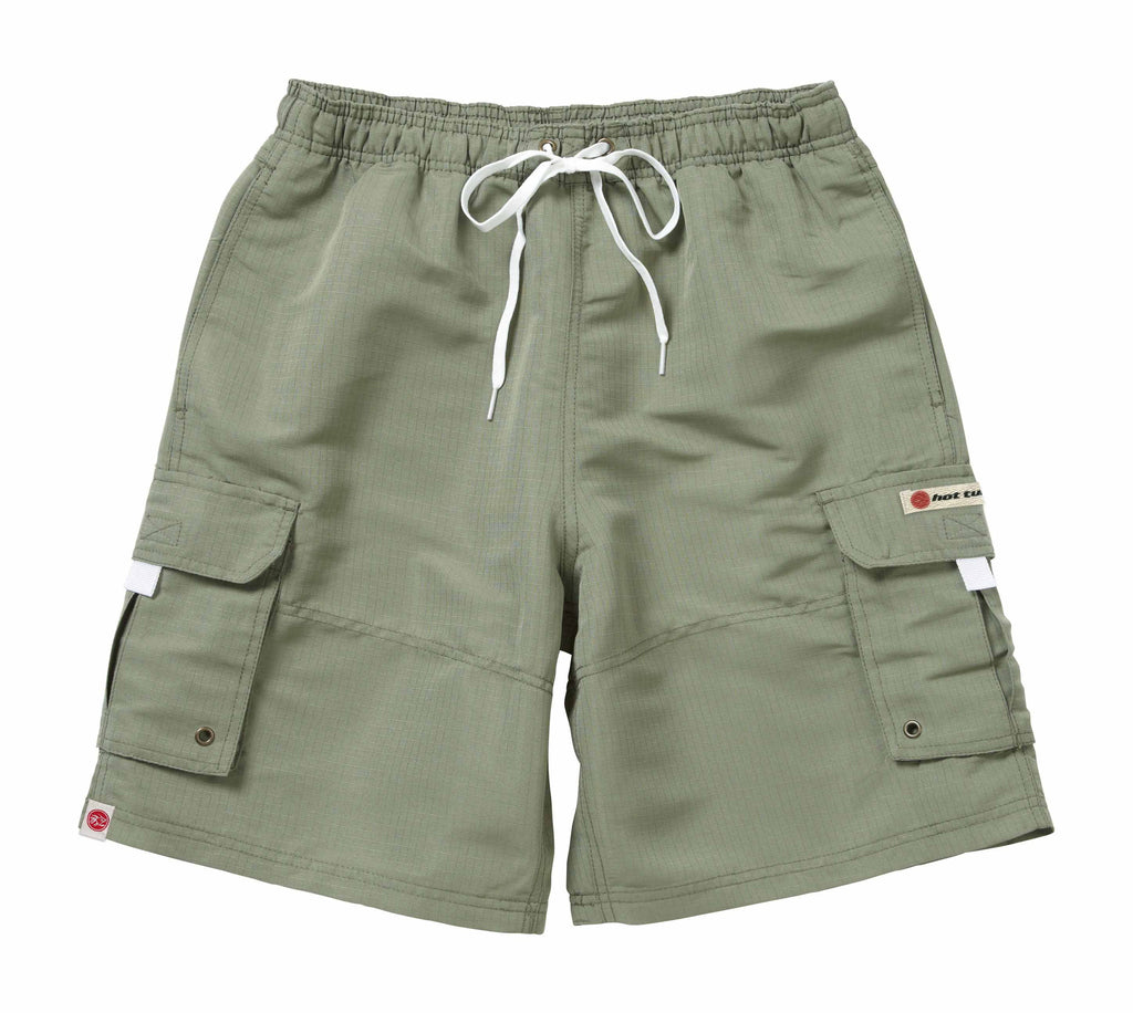 Hot Tuna Mens - Regular Joe - Shorts - Olive - CLEARANCE