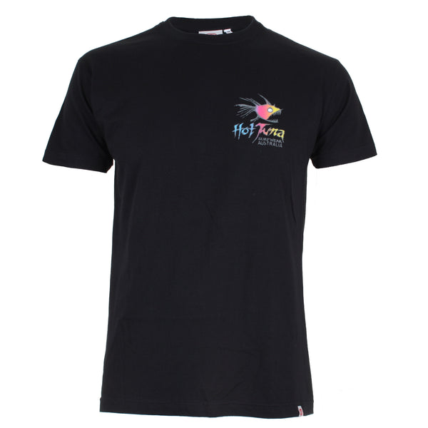 Hot Tuna Mens - Rainbow - T-Shirt - Black