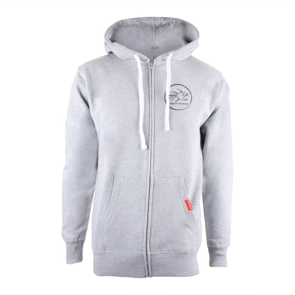 Hot Tuna Mens Gold Coast Zip Hoodie - Grey Heather