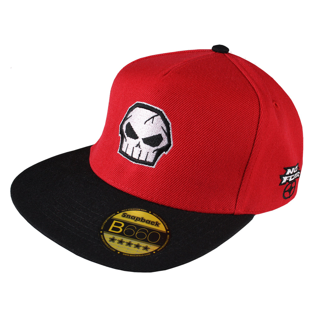 No Fear Mens - Logo - Cap - Red/ Black - CLEARANCE