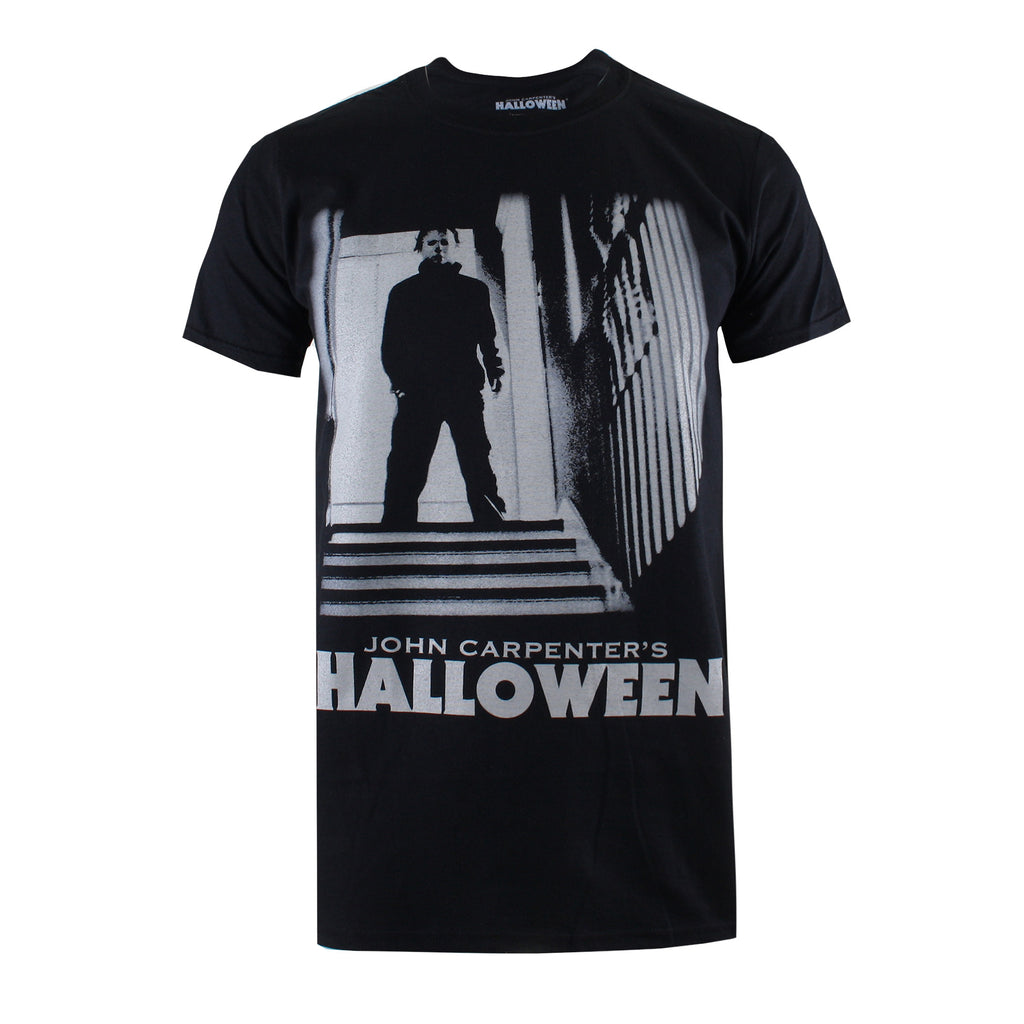 Halloween Mens - Myers - T-Shirt - Black - CLEARANCE