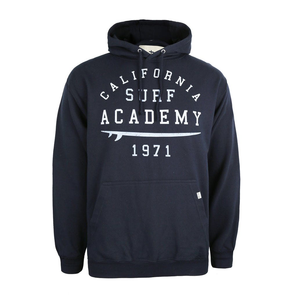 Pure Juice Mens - Surf Academy - Pullover Hood - French Navy