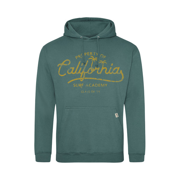 Pure Juice Mens - Property Of - Pullover Hood - Moss Green