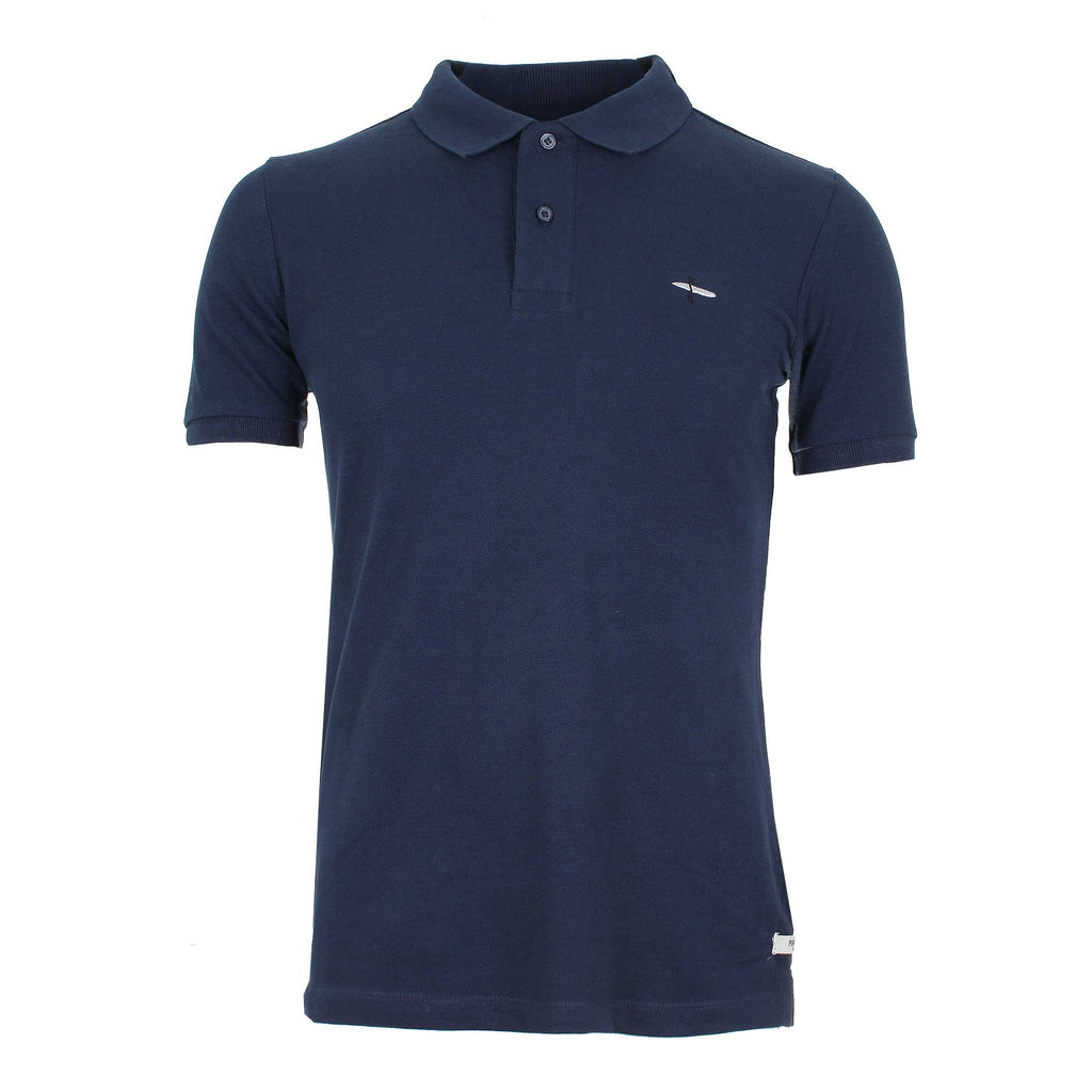 Pure Juice Mens Surfer Polo Shirt - Navy