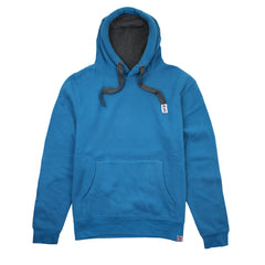 PLAIN LAZY - MENS PULLOVER HOODY - SAPPHIRE