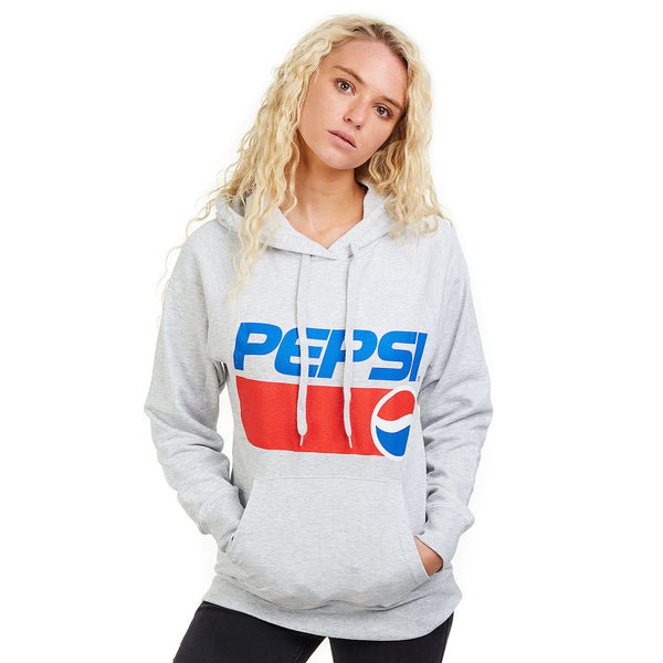 Pepsi Ladies - Pepsi 1991 - Pullover Hood - Grey Heather
