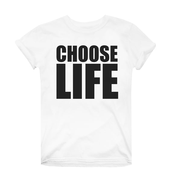 Wham Ladies - Choose Life - T-Shirt - White