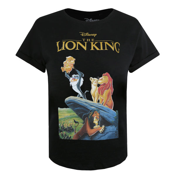 Disney Ladies - Lion King - VHS - T-shirt - Black