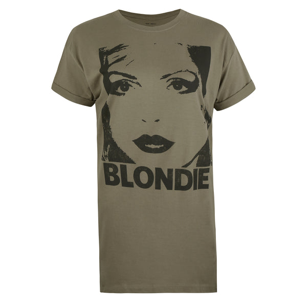 Blondie Ladies - Silhouette - T-shirt - Khaki