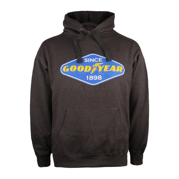 Goodyear Mens - Diamond - Pullover Hood - Charcoal