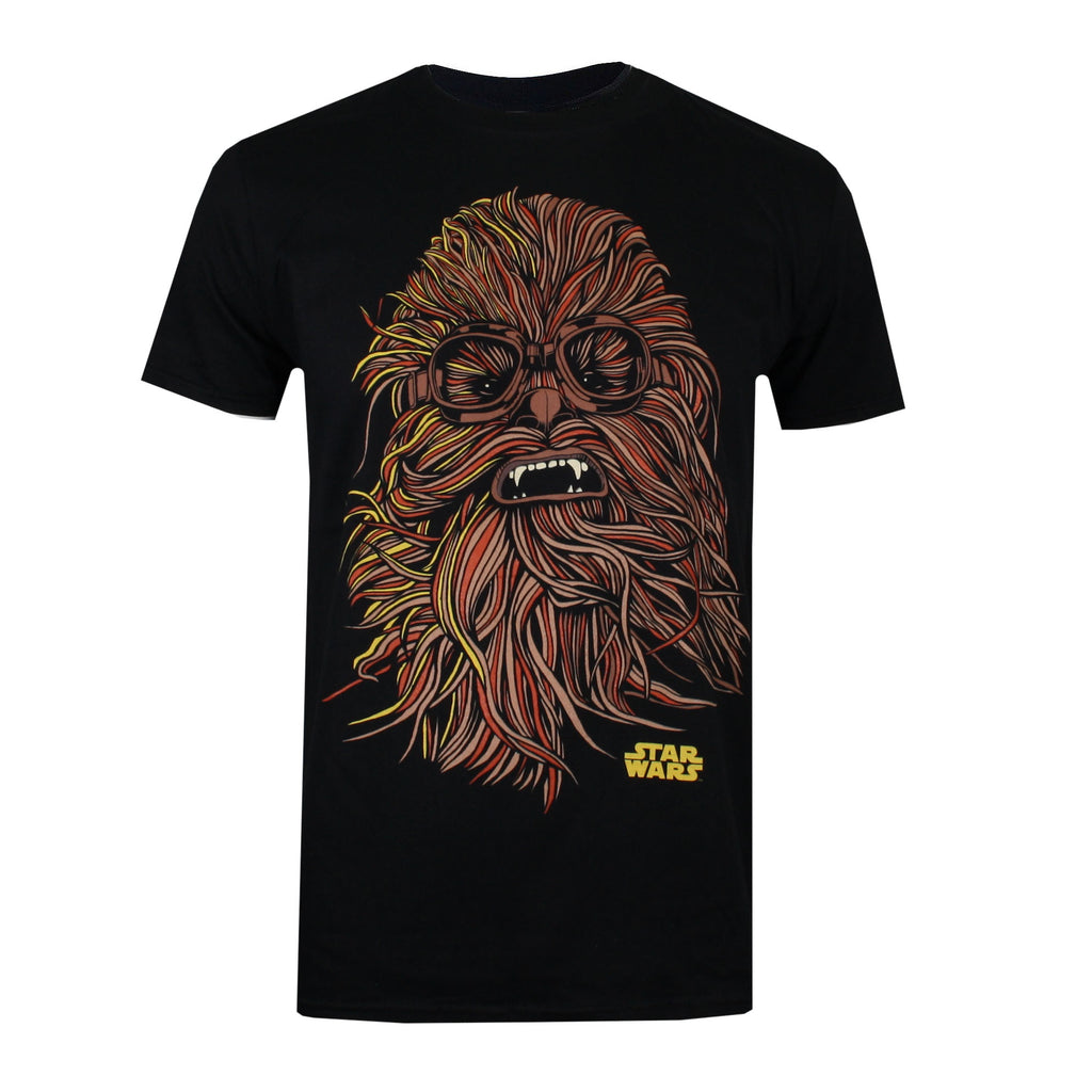 Star Wars Mens - Chewie Goggles - T-shirt - Black