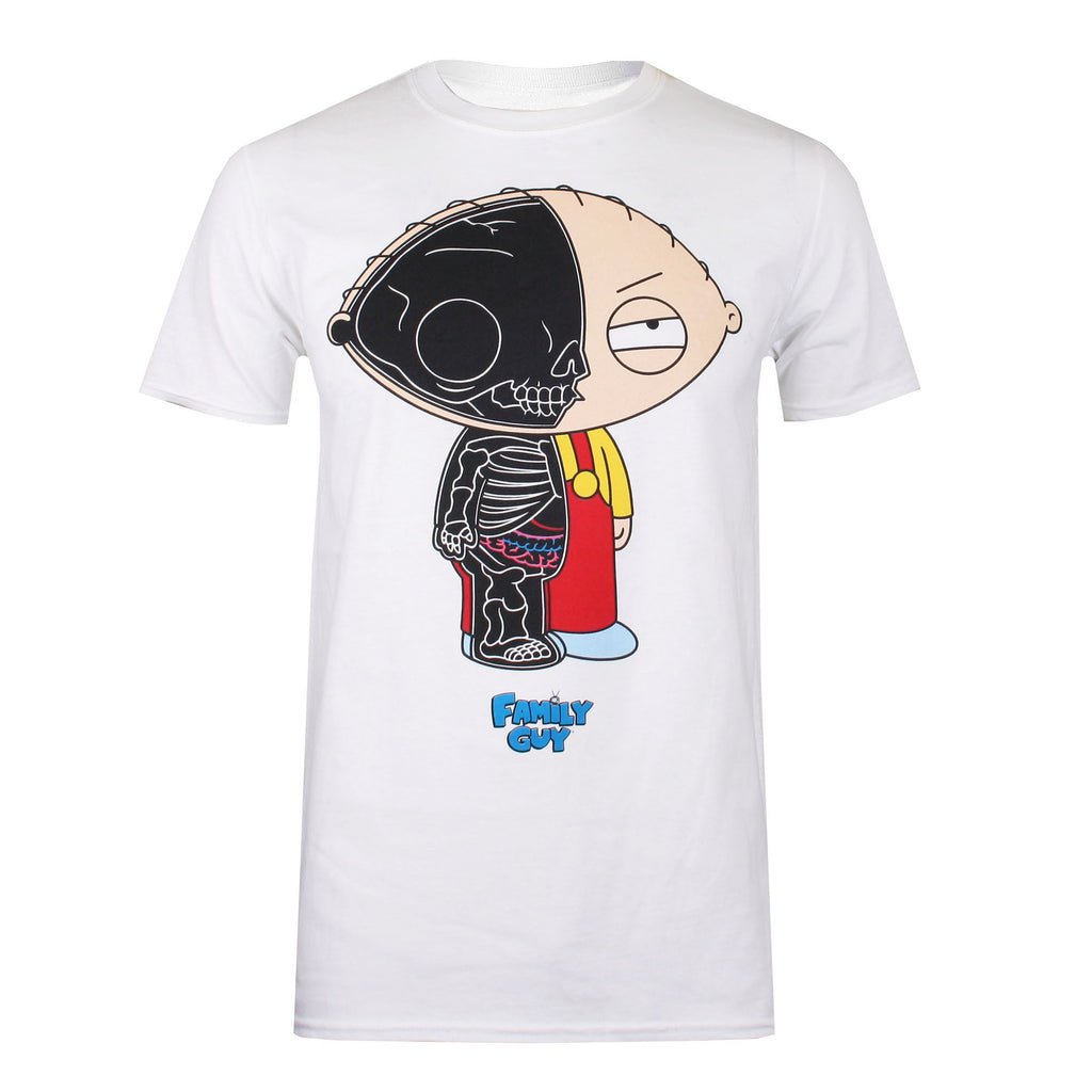 Family Guy - Stewie Anatomy - T-Shirt - White
