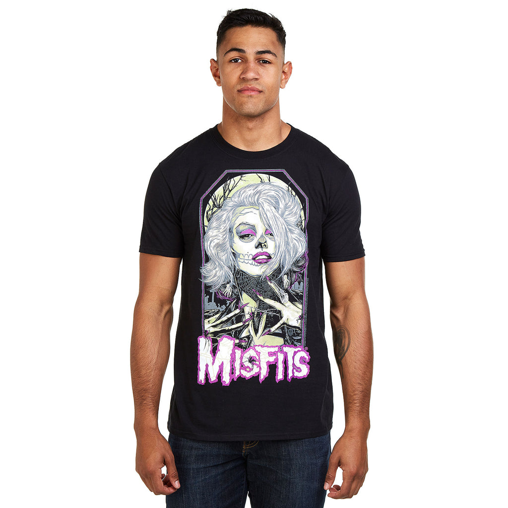 Misfits Mens - Original Misfit - T-Shirt - Black
