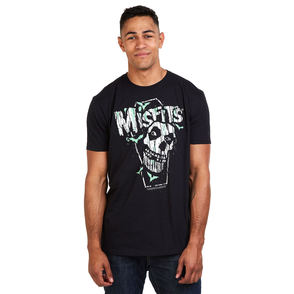 Misfits Mens - Coffin - T-Shirt - Black - CLEARANCE