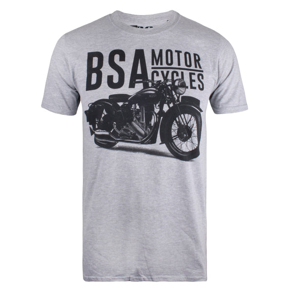 BSA Mens - Tonal - T-Shirt - Grey Marl