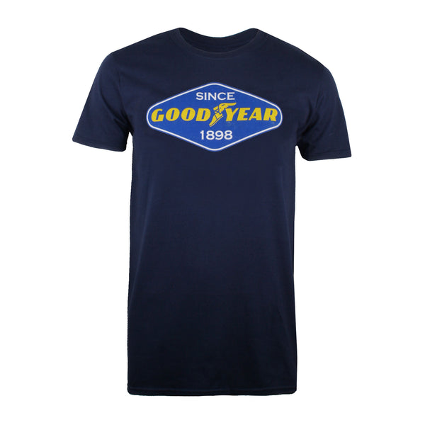 Goodyear Mens - Diamond - T-shirt - Navy