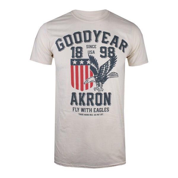 Goodyear - Fly with eagles - Men's T-Shirt - Natural