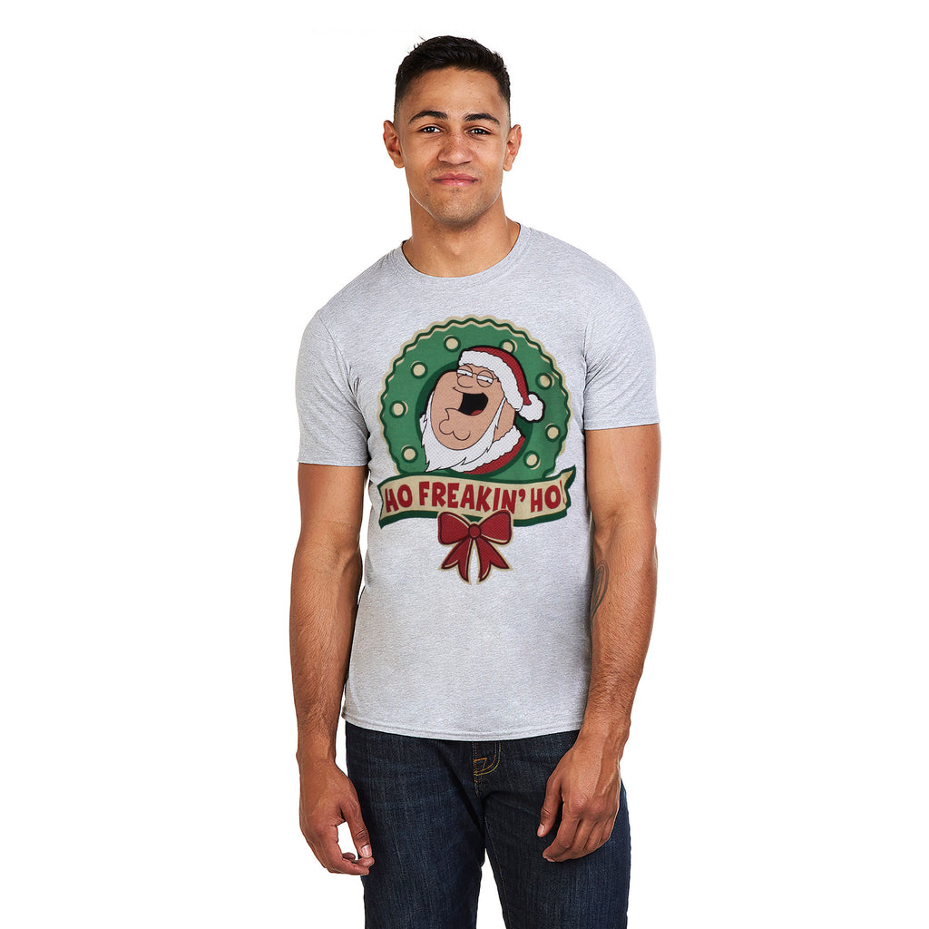 Family Guy Mens - Ho Freakin Ho - T-shirt - Grey