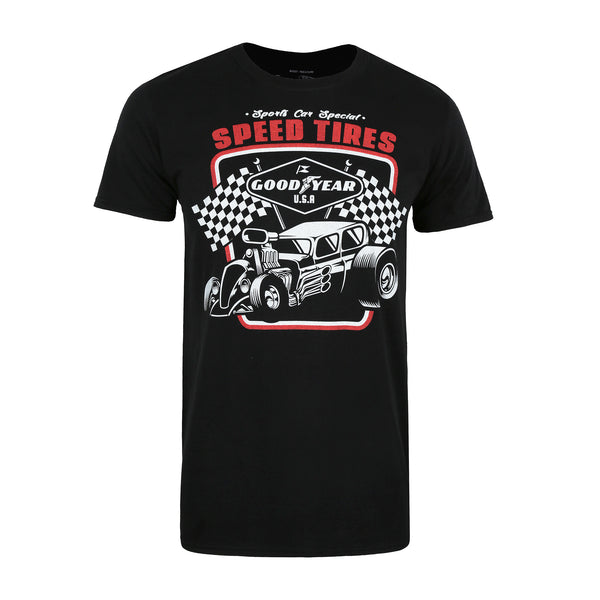Goodyear Mens - Speed Tires - T-Shirt - Black