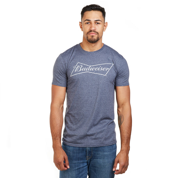 Budweiser Mens - Bow - T-Shirt - Navy