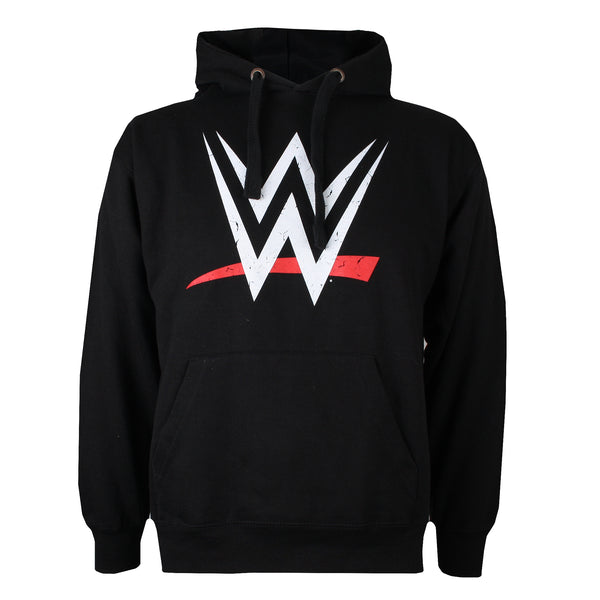 WWE Mens - Logo - Pullover Hood - Black - CLEARANCE