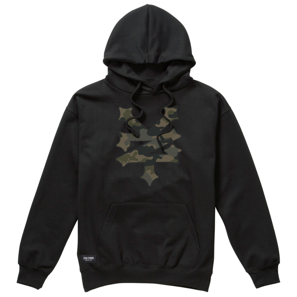 Zoo York Men's -Buffalo - Pullover Hoodie - Black - CLEARANCE