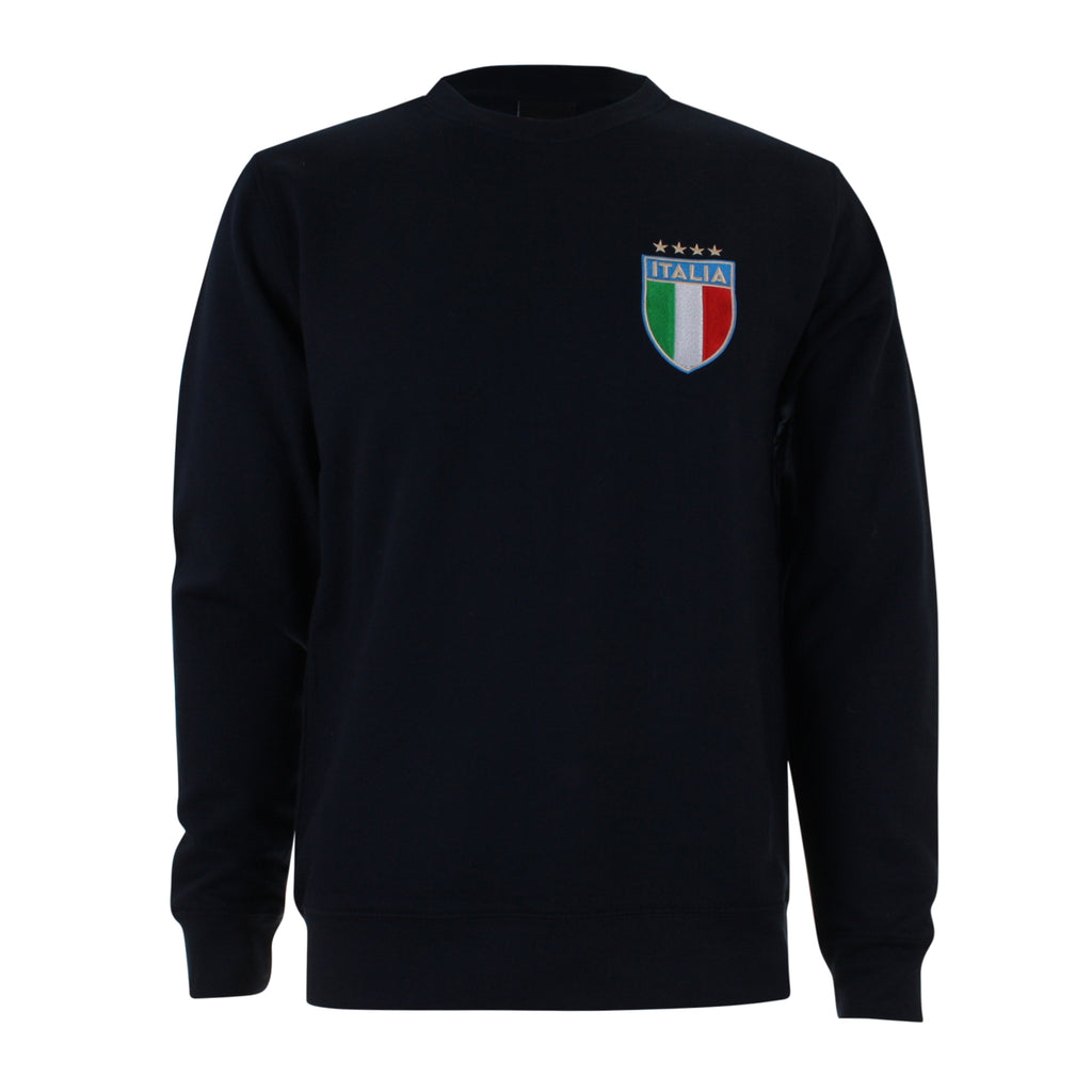 Toffs Mens - Italy - Crew Sweat - Navy - CLEARANCE