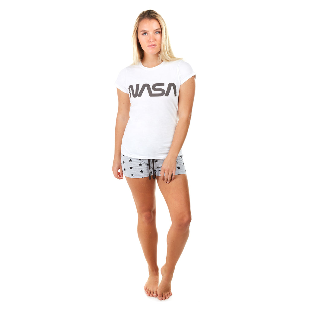 NASA Ladies - NASA Title - Short Sleep Set - Multi