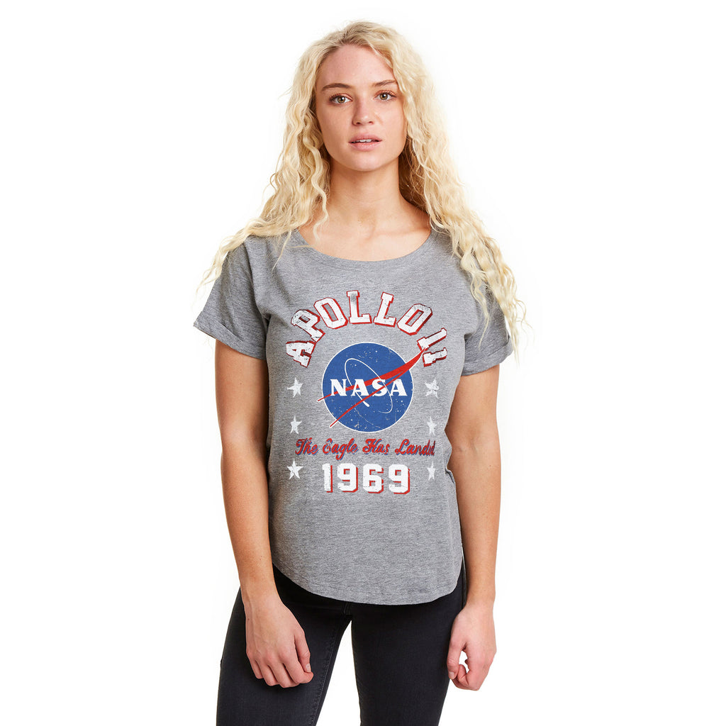 NASA Ladies - NASA 1969 - T-Shirt - Graphite Heather