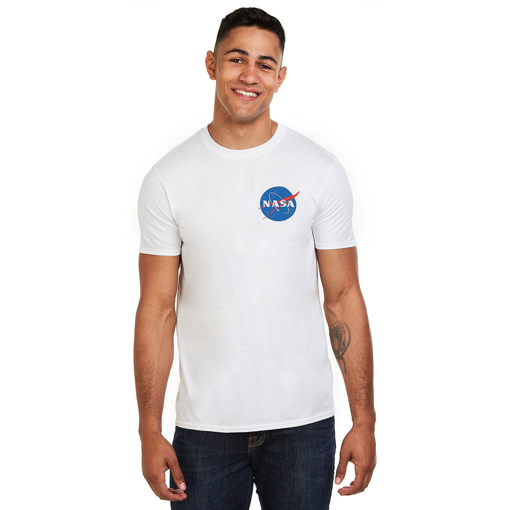 NASA Mens - Core Logo - T-Shirt - White