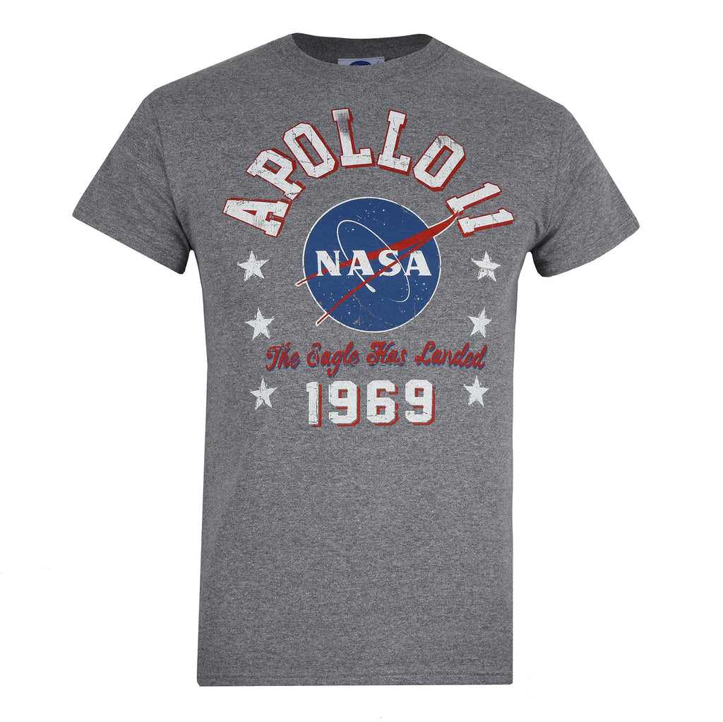 NASA Mens - NASA 1969 - T-Shirt - Graphite Heather