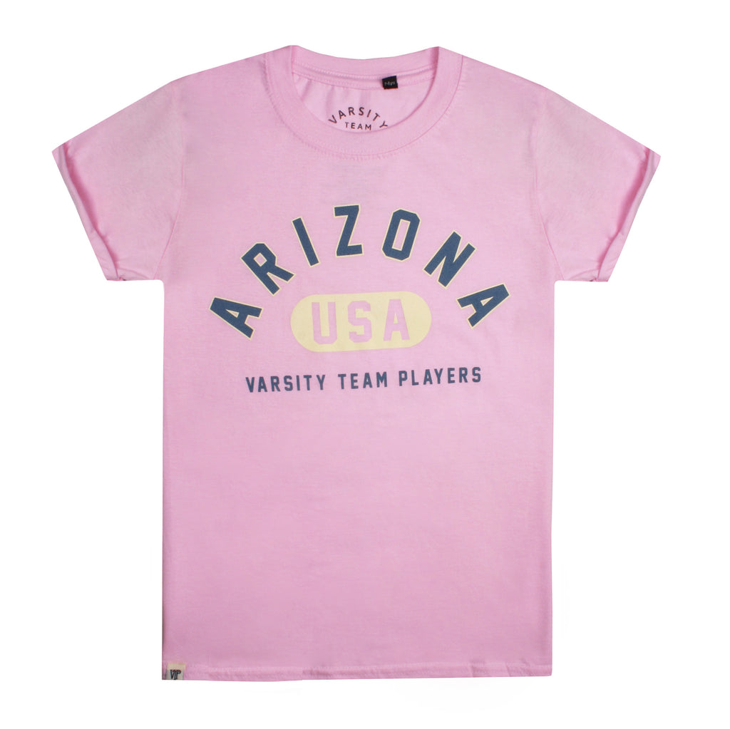 Varsity Girls - Arizona - T-Shirt - Light Pink