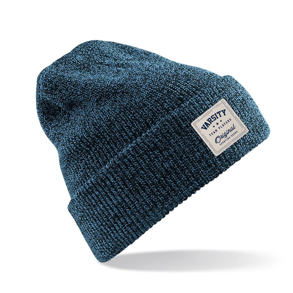 Varsity Mens - Heritage - Beanie - Antique Petrol - CLEARANCE