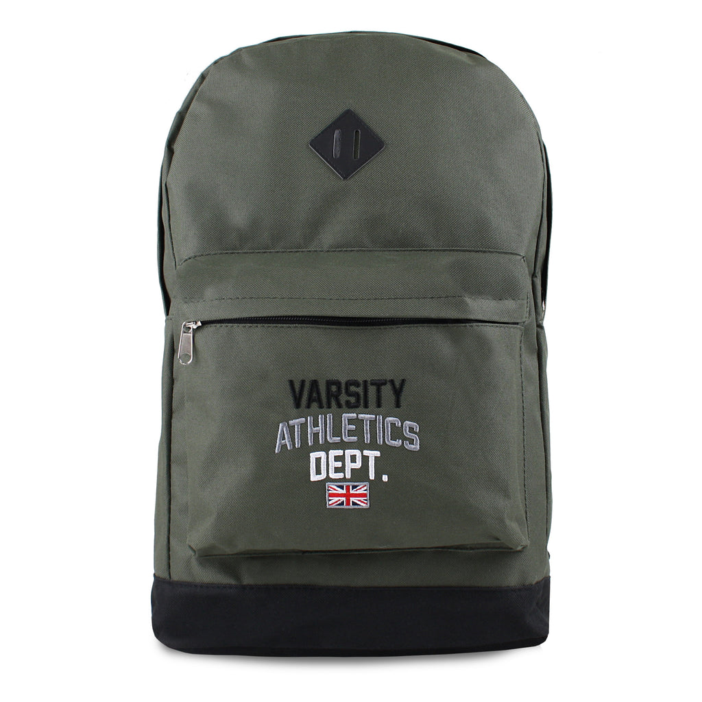 Varsity Mens - Skool - Backpack - Khaki Green/Black