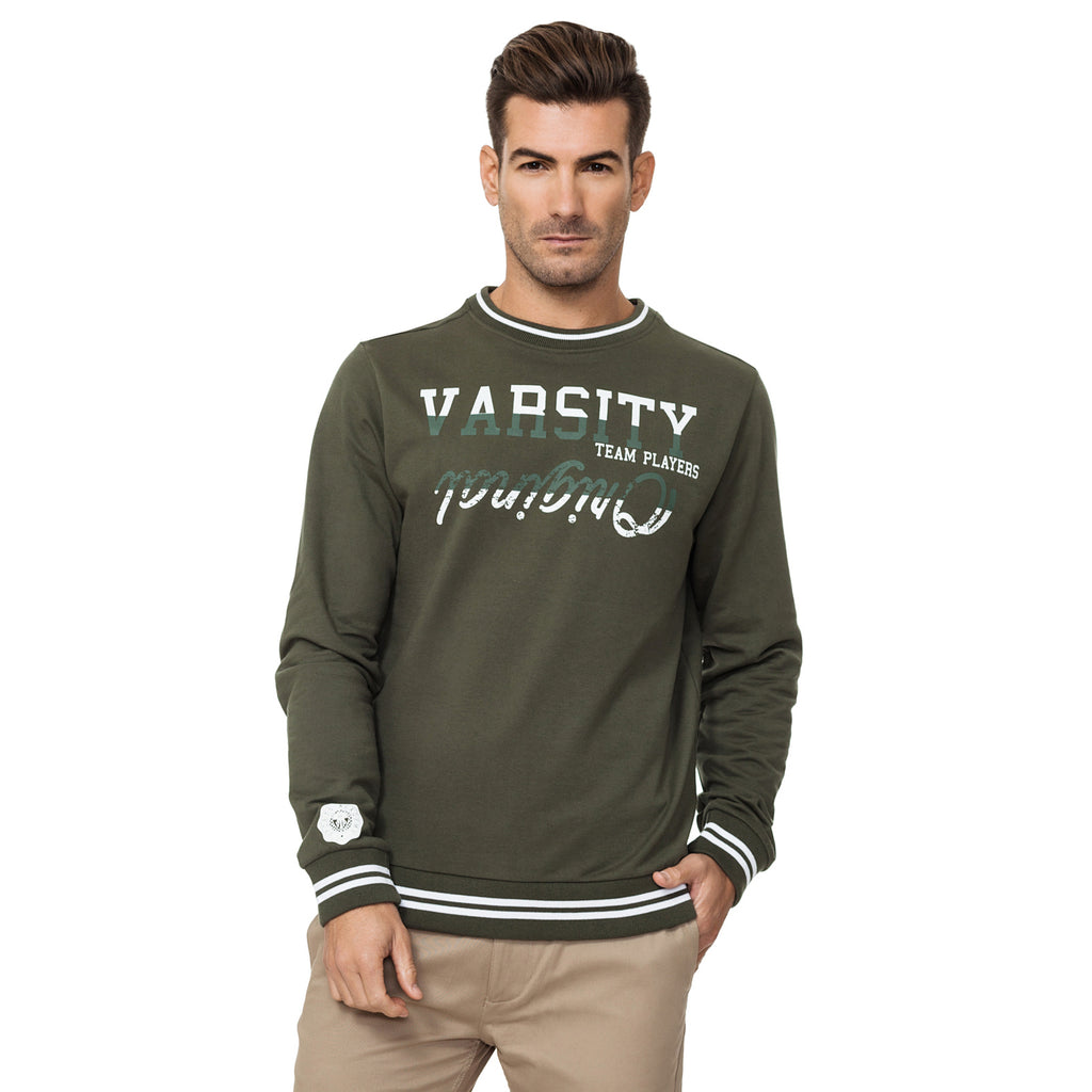 Varisty Mens - Georgetown - Jumper - Khaki