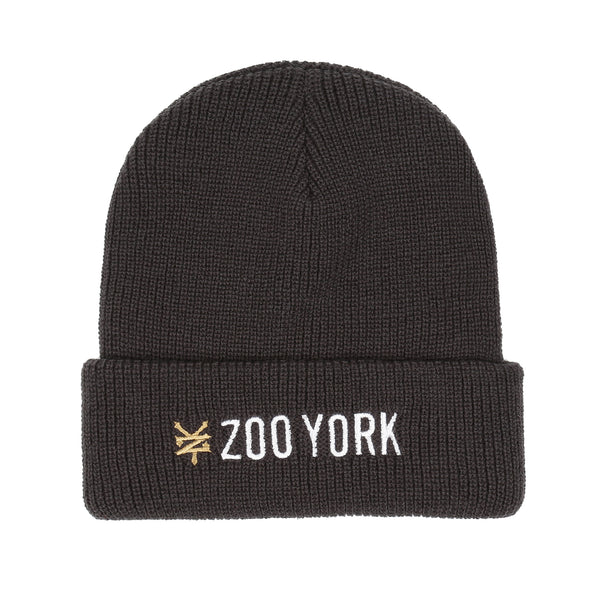 Zoo York Men's - Text Logo - Speckle Beanie - Grey - CLEARANCE