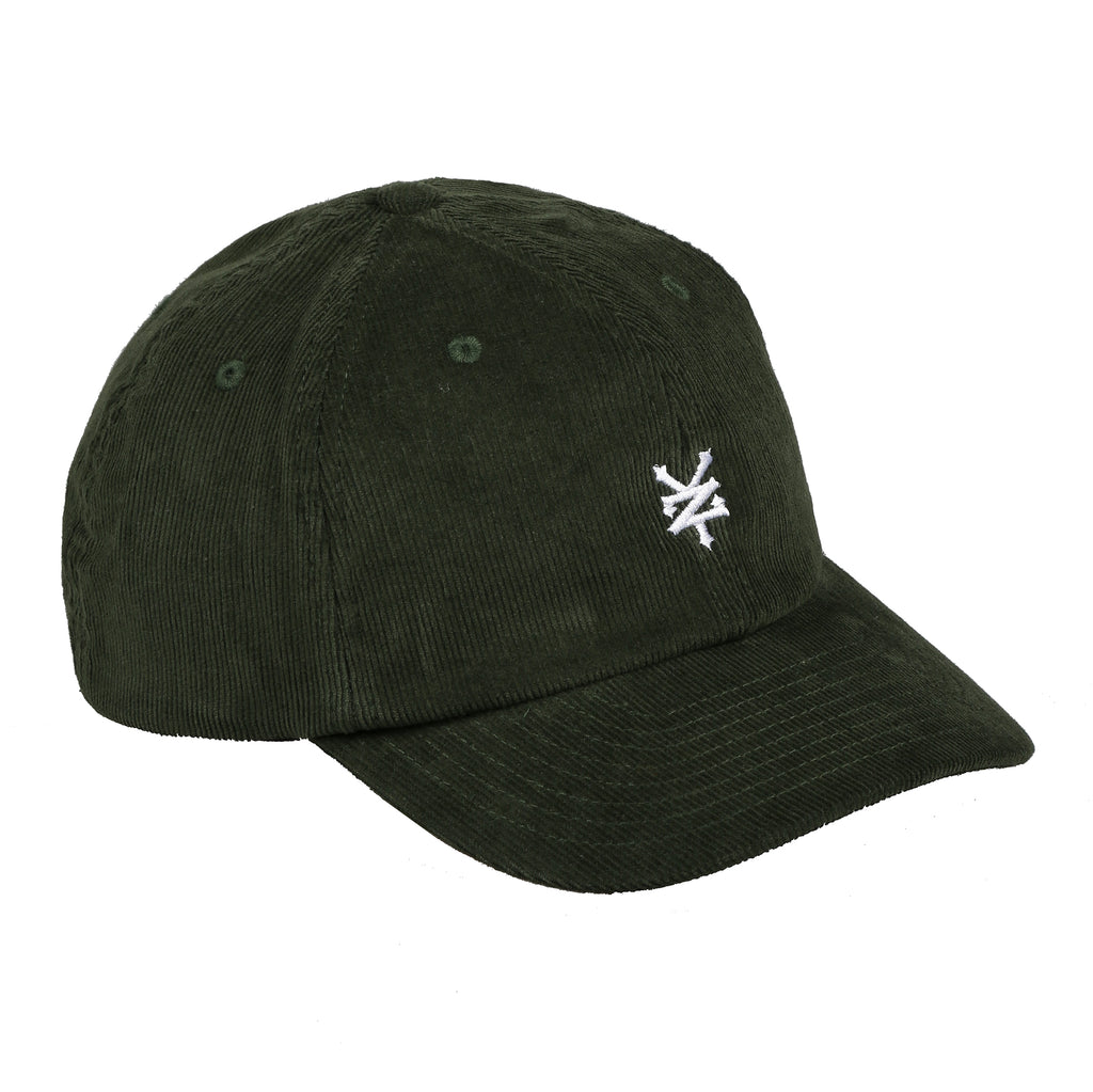 Zoo York Mens - Core Logo - Cord Cap - Dark Olive