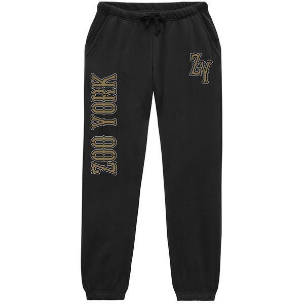 Zoo York Men's - Built Tough - Sweat Pants - Black - CLEARANCE