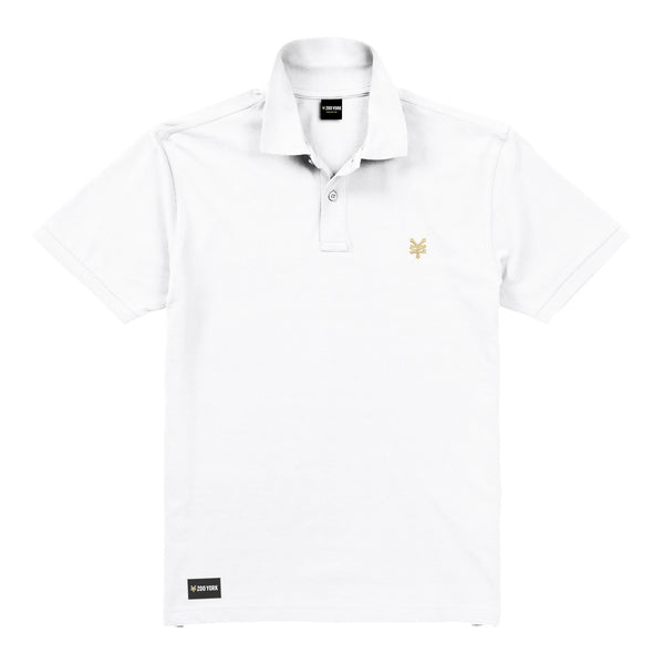 Zoo York Men's - Bay Street - Polo Shirt - White - CLEARANCE