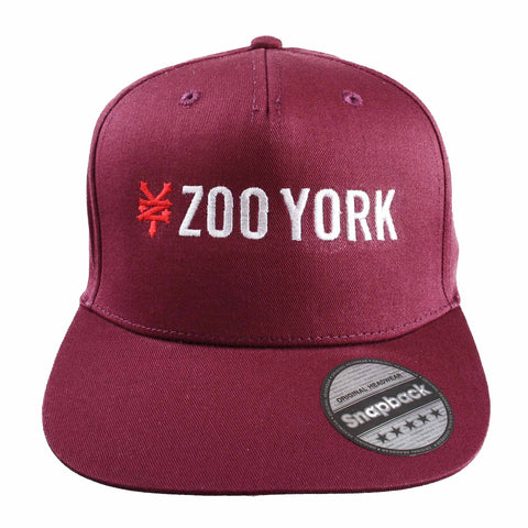 bc6654ca571 Sold Out Streetwear Mens Logo Snapback - Burgundy