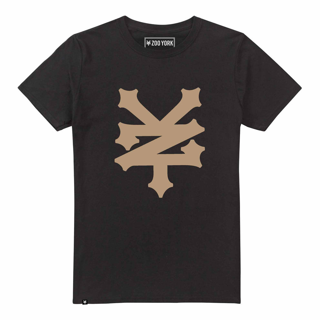 Streetwear Mens Corning T-Shirt - Black