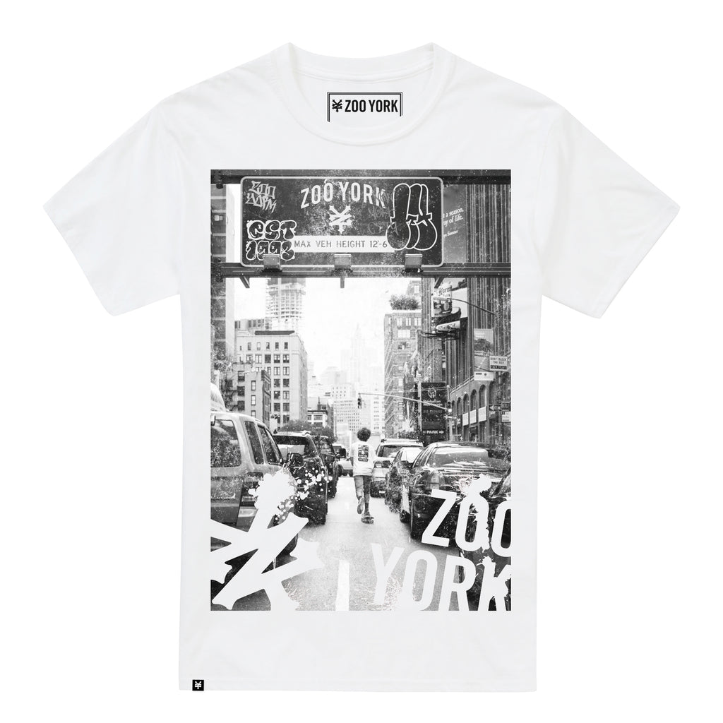 Zoo York Mens - Welcome TP ZY - T-Shirt - White