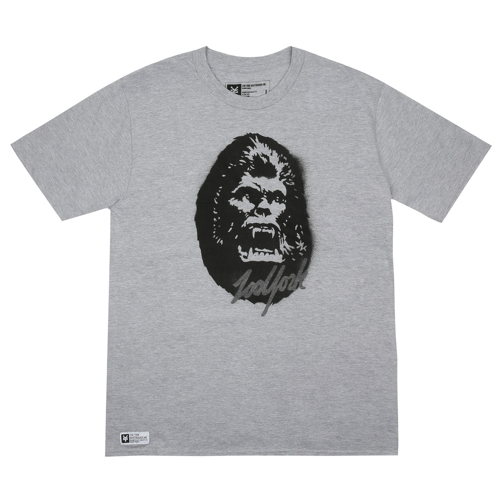 Zoo York Mens - Kong - T-shirt - Grey Heather