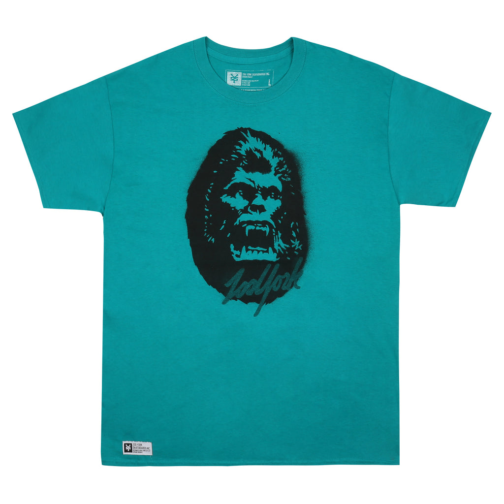 Zoo York Mens - Kong - T-shirt - Jade Dome