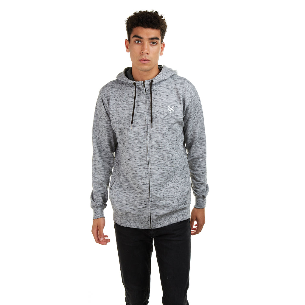 Zoo York Mens - Stockwell - Zip Hood - Grey