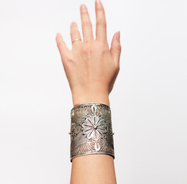 Filigree Wide Cuff