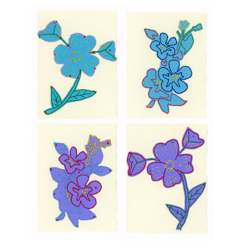 Paper Cut Cards with Embroidery